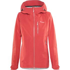 Bergans Eidfjord Jacket Damen pale red/pale coral/alu